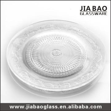 Glass Banquet Plate Wedding Plate (GB2302ZZ)