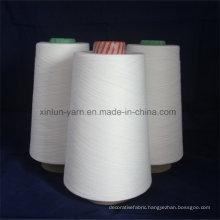 32s Polyester Viscose Blend Yarn Knitting Yarn T70/R30