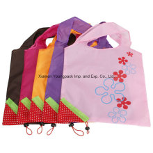 Faltbare Nylon Folding Hanging Strawberry Shopping Tragetaschen