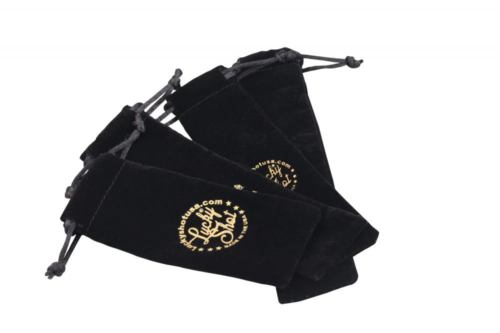 Velvet Pen bag Pouch with Printing