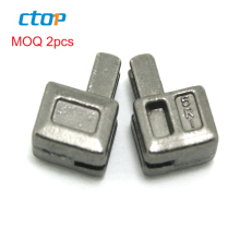 2020 Hot sale hardware accessories insertion zipper pin and box for open end zipper insertion pin zipper bottom stop