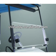 Klar faltbare Acryl Windschutzscheibe für Golf Cart für YAMAHA Golf Car