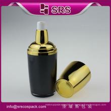 Alta qualidade e garrafa cosmética de soro de caracol acrílico de venda quente