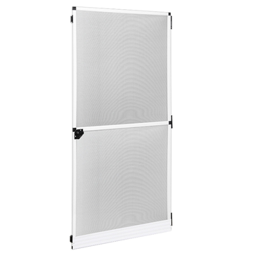 Fiberglass screen door and glass screen door