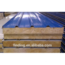 prefab house used thermal insulation pu sandwich roof panel