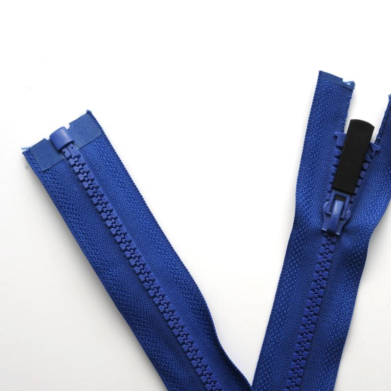Tight plastic zippers