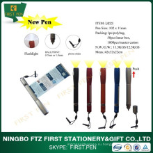Мини-пластиковая ручка с факелом