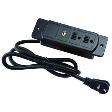 Tomas de corriente dobles de EE. UU. Con toma USB