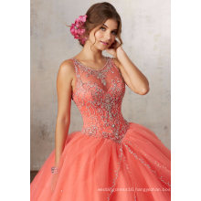 Pink/Blue/Purple Beading Ballgown Prom Party Quinceanera Dress (89127)