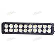 """Barra de luz LED impermeable de 17 """"12V / 24V CREE 200W 4X4"""