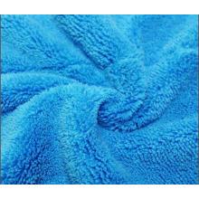 Toalha de microfibra / lavagem de carro macio / toalha limpa casa colorida