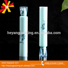 Acrylic screw cap plastic collapsible tube