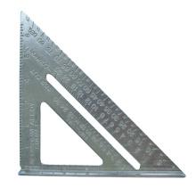 Alumínio Tri Angle Square Rulers