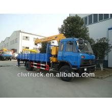 Camión grúa DongFeng 145 (grúa de 5 toneladas)