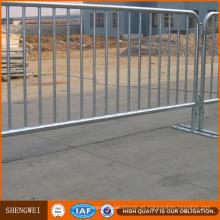 Fabricante galvanizado caliente de la barrera del metal del control de muchedumbre