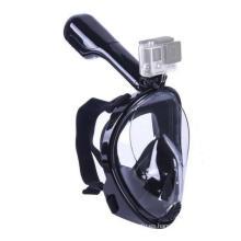 Máscara de snorkel panorámica Seaview 180 °: diseño de cara completa. Vea más con un área de visualización más grande que las máscaras tradicionales. Previene Gag Reflex con diseño sin cámara