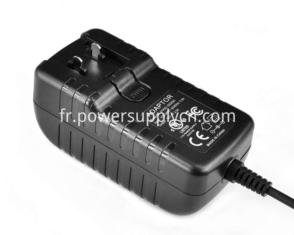 19V500MA Changeable Plugs Wall Charger