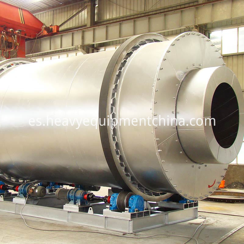 three pass rotary dryer