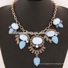 Top Sale Diamond Rhinestone drop collar necklace