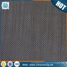 200 micron square twill weave iron black wire mesh cloth