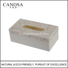 River Shell Wholesale Tissue Box voor huisdecoratie