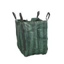Saco grande verde reciclado da cor para jardinagem