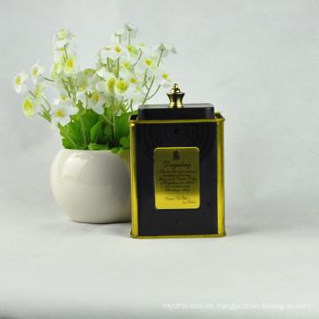 Metall Geschenk Zinn, Blech Rohr Verpackung, Kaffee Zinn Dose Verpackung