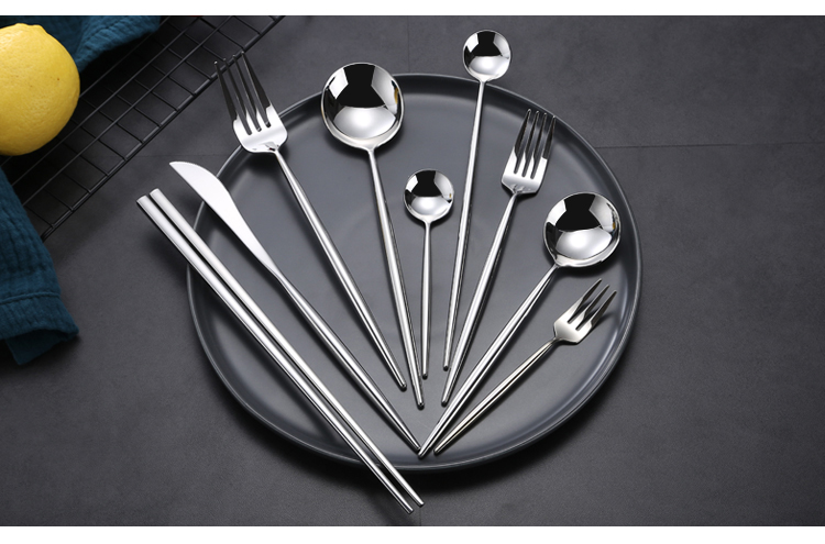 304 Stainless Steel Shiny Silver Cutlery