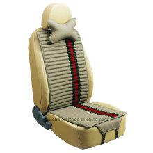 Leinen und samt Autositz decken doppelte Seiten Verwendung-Beige