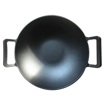 Cheap Price Pre-Seasoned Cast Iron Wok, Chinese Wok