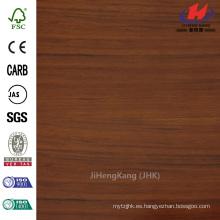96 pulg x 48 pulg x 5/7 en el panel de la junta de dedo de madera de goma personalizada sólida caliente