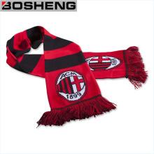 Acrylic Joint Jacquard Knit Sport Fan Soccer Football Scarf