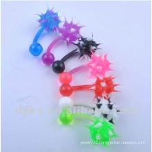 Fashion christmas tongue ring UV tongue jewelry