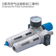 ESP-Pneumatik Luftbehandlungsgeräte DC-Serie Luftfilter-Kombination