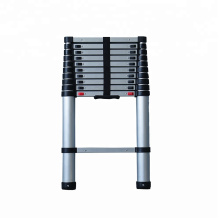 2.6m 1x8 step ladder, telescopic aluminium ladder (wrap shrink picture)