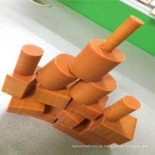 Forma redonda fenólico laminado baquelite e peças CNC