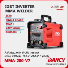 ZX7 Single phases IGBT 200amp DC MMA welder
