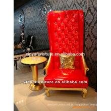Lobby do hotel Cadeira de couro artificial XYD102