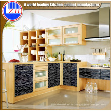 Gabinete de cocina de estilo moderno (zhuv)