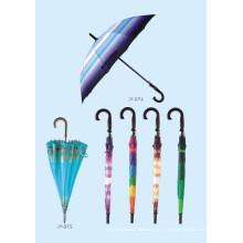 Parapluie droit à impression automatique à impression automatique (JY-075)
