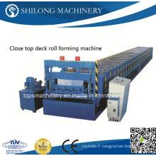 Machine de formage de rouleaux en tôle ondulée PPGI approuvée CE