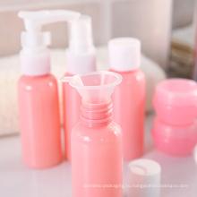 ПЭТ косметические пластиковые бутылки для бутылки путешествия макияж (PT03)