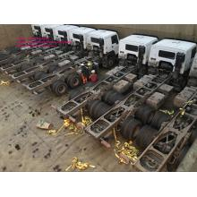 4300mm wheel base cargo truck chassis