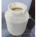 Jarra de molienda de bolas de cerámica de alta alúmina 99--99.7% con tapa