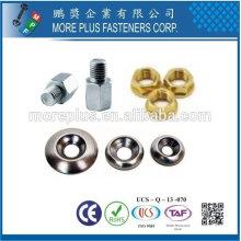 Taiwán Acero inoxidable 18-8 Cobre Conector de muebles de latón Catálogo Fastenal piezas de motocicletas
