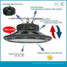 Shopping Hall LED Highbay Light con diseño UFO