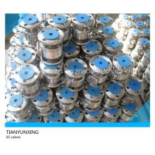 API Stainless Steel Flanged Floating Ball Valves