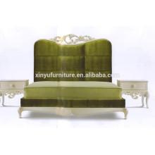 Estilo europeo de madera maciza tallado muebles clásicos BD8050