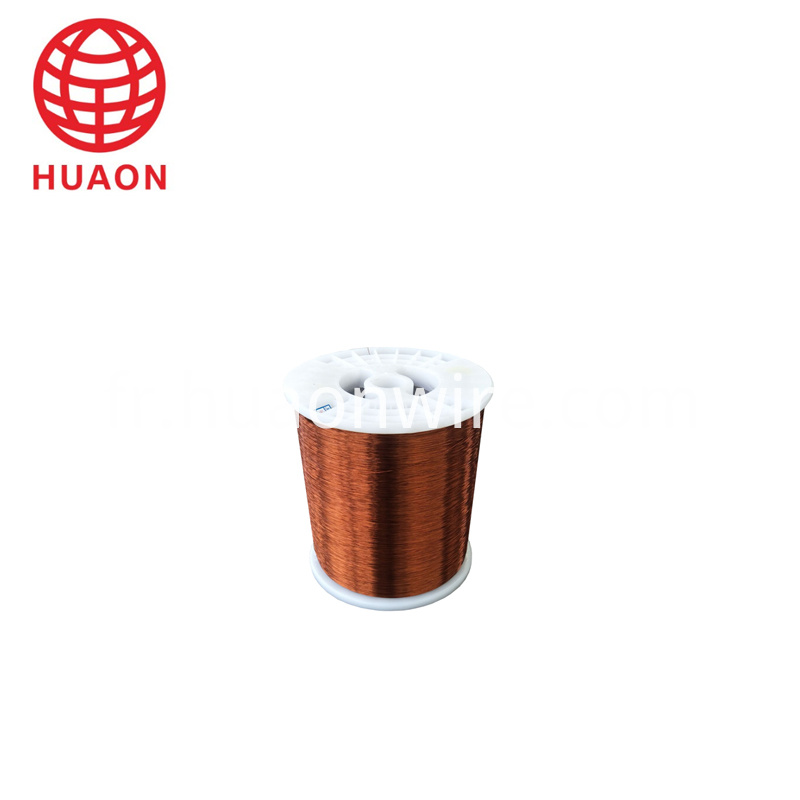 Polyester enameled round copper wire class 130
