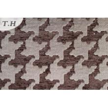 Tissu de coussin jacquard géométrique Chenillle (fth31930)